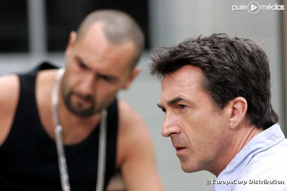 """Gilles Lellouche et François Cluzet dans """"Ne le dis à personne""""."""