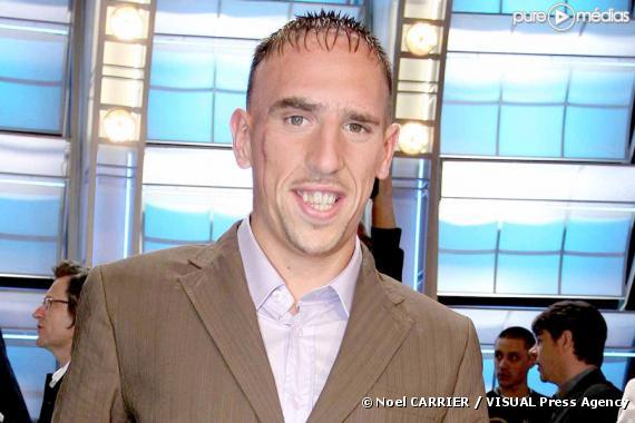 Franck Ribéry, en 2006