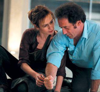 Sandrine Bonnaire et Vincent Lindon dans 'Je crois que je...