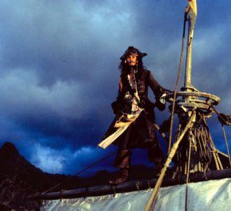 Johnny Depp dans 'Pirates des Caraïbes, la malédiction du...
