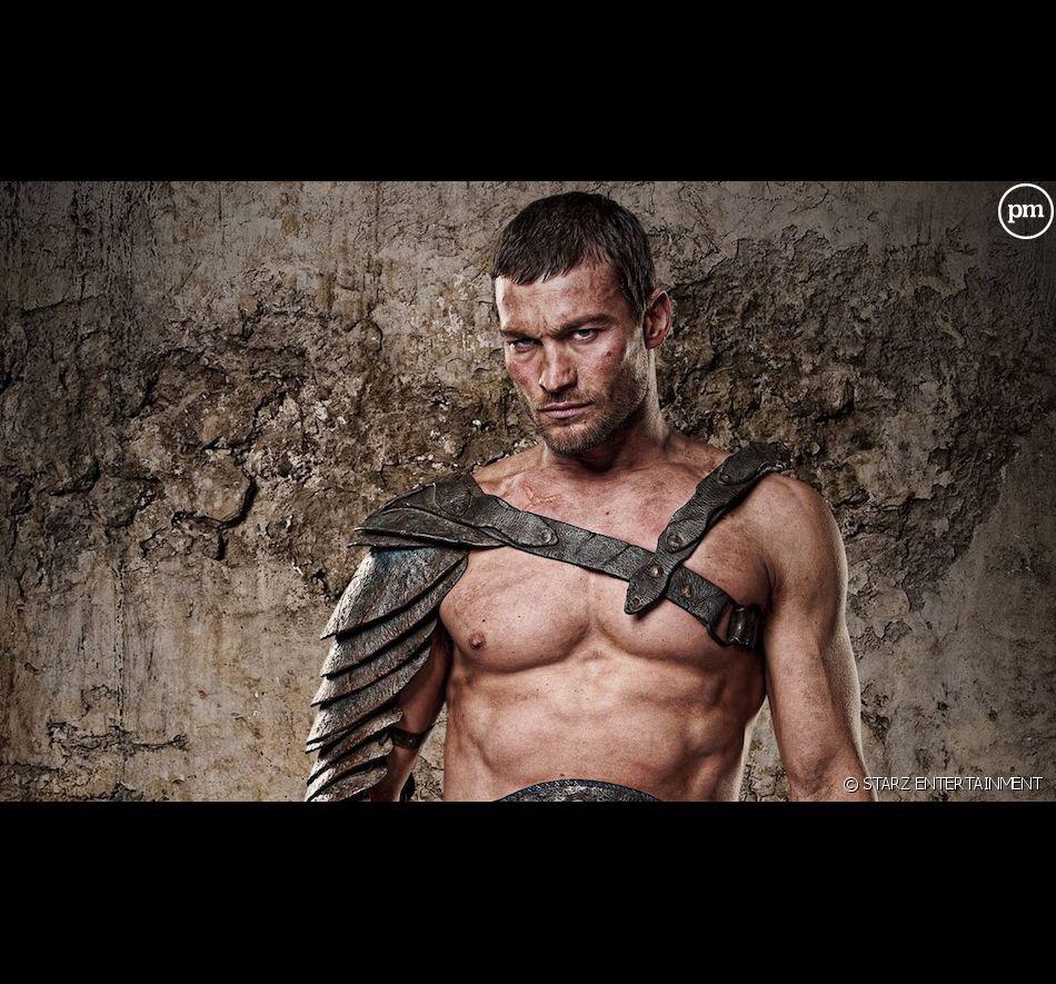 """Andy Whitfield dans """"Spartacus : le sang des gladiateurs"""" saison 1"""