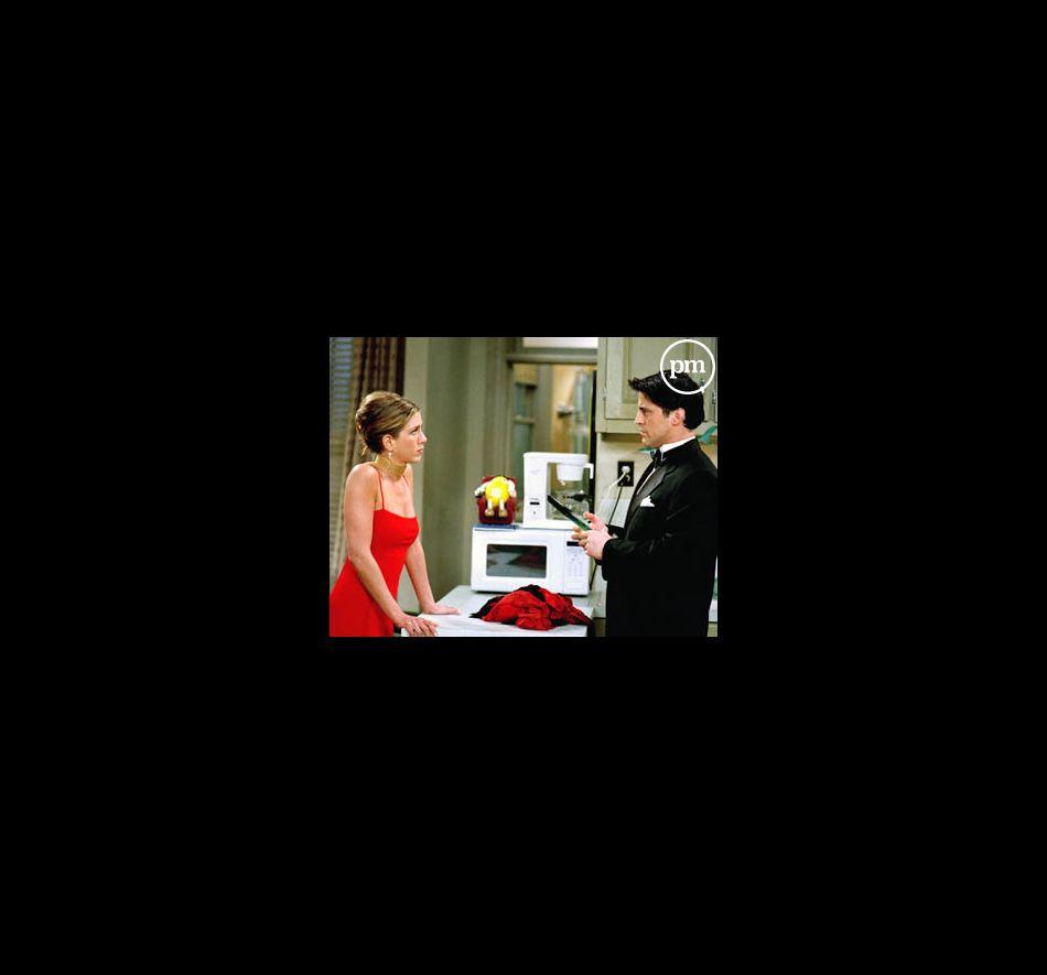 "Jennifer Aniston et Matt LeBlanc dans ""Friends"""