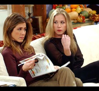 Jennifer Aniston et Christina Applegate dans 'Friends'