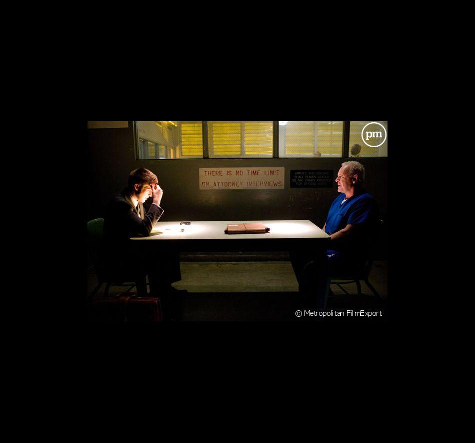 "Ryan Gosling Anthony Hopkins dans ""La Faille"""