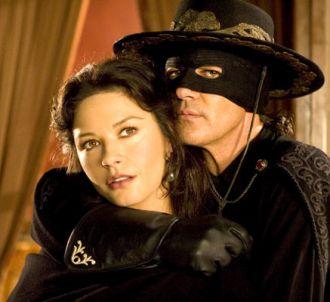 Catherine Zeta-Jones et Antonio Banderas dans 'La Légende...