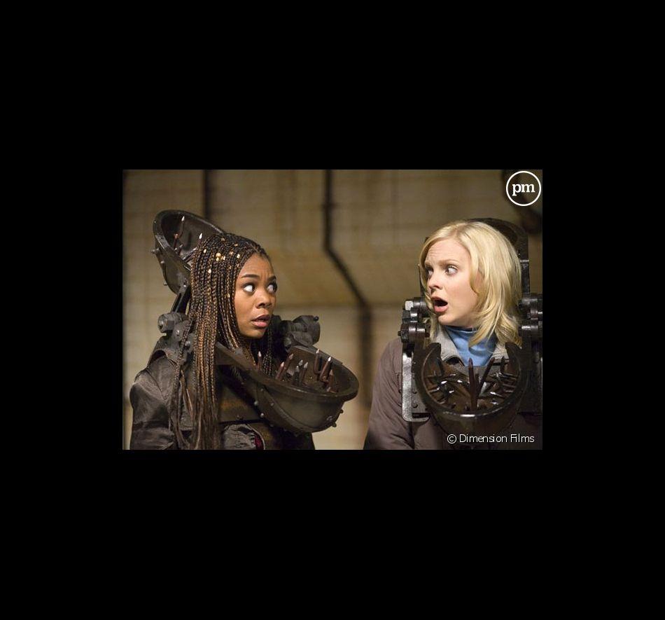 "Regina Hall et Anna Faris dans ""Scary movie 4""."