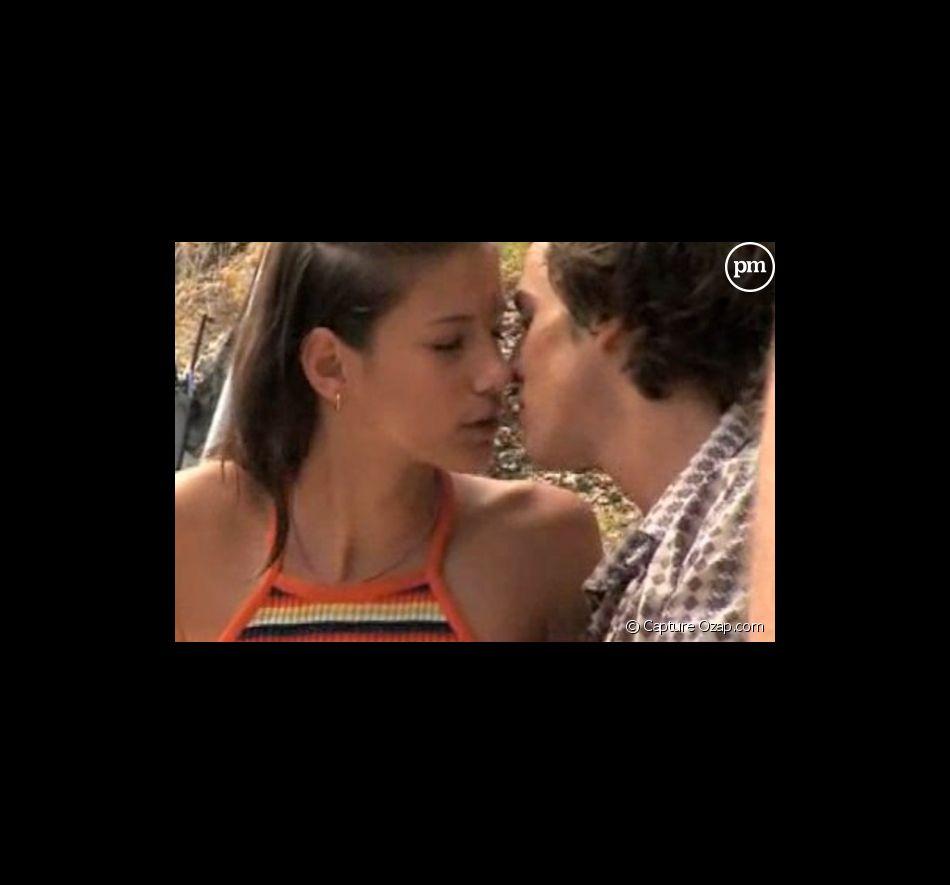 Premier baiser de cinéma pour Benjamin (Nouvelle Star) dans Largo Winch.