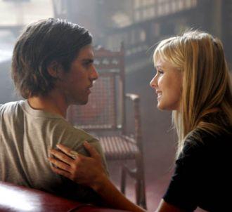 Milo Ventimiglia et Kristen Bell dans 'Heroes'