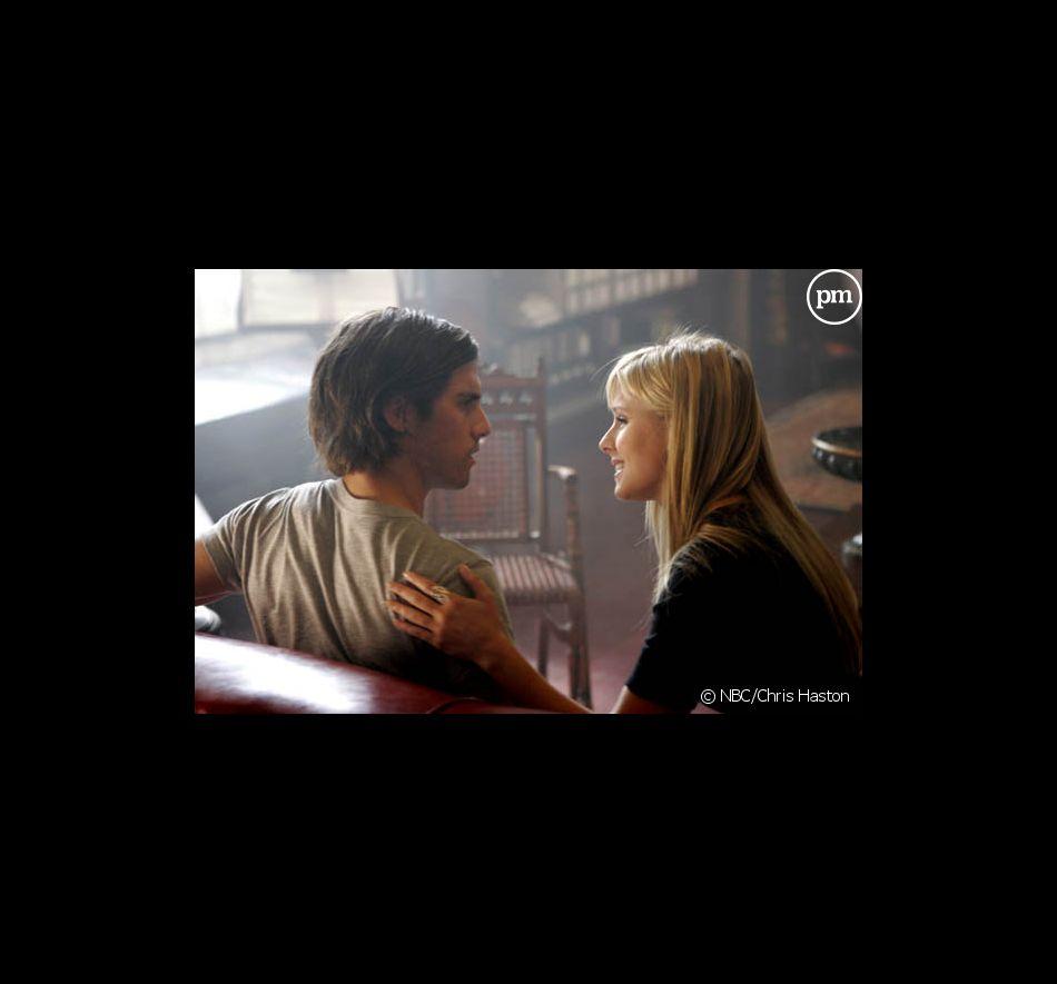 """Milo Ventimiglia et Kristen Bell dans """"Heroes"""""""