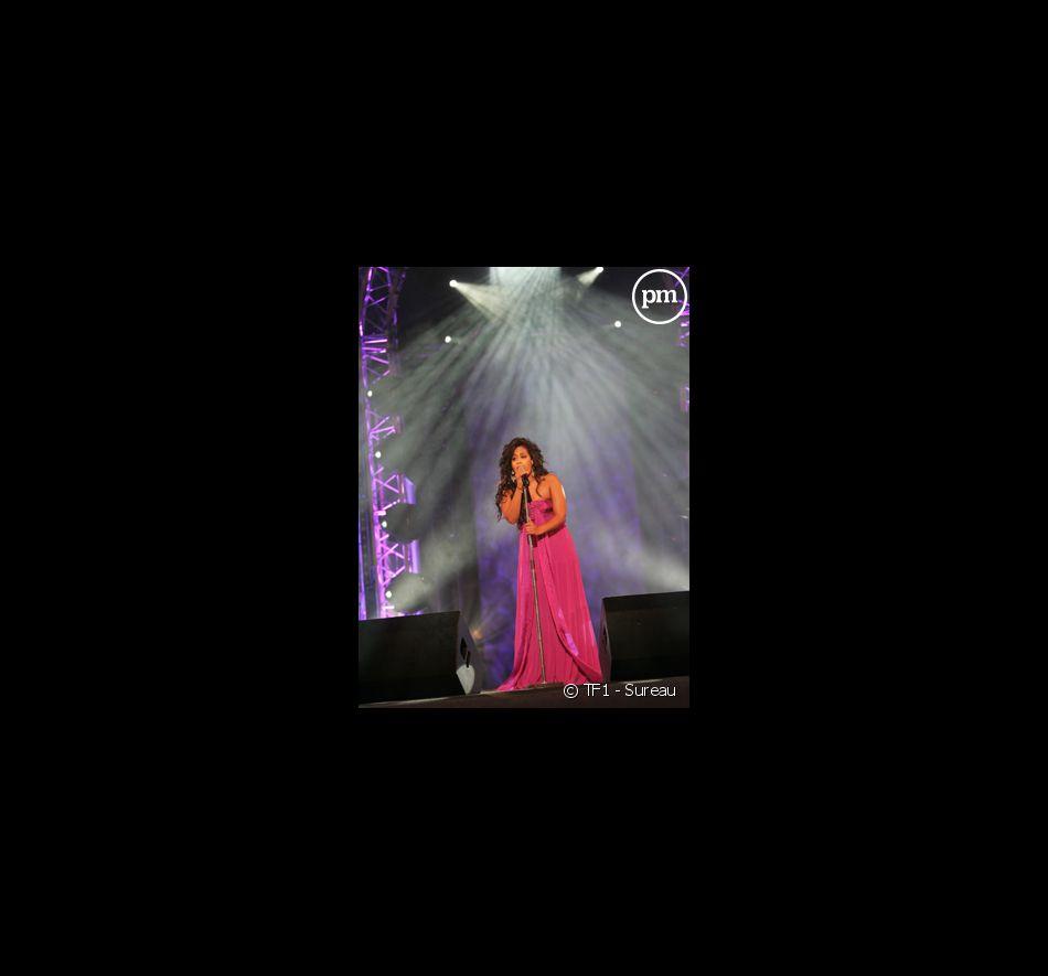 Le concert pour la tolérance à Agadir. Edition 2007. Amel Bent.