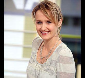 Caroline Roux - 'La Matinale' sur Canal +.