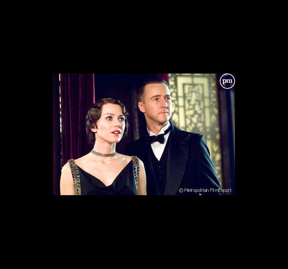 """Edward Norton et Naomi Watts dans """"Le Voile des illusions""""."""