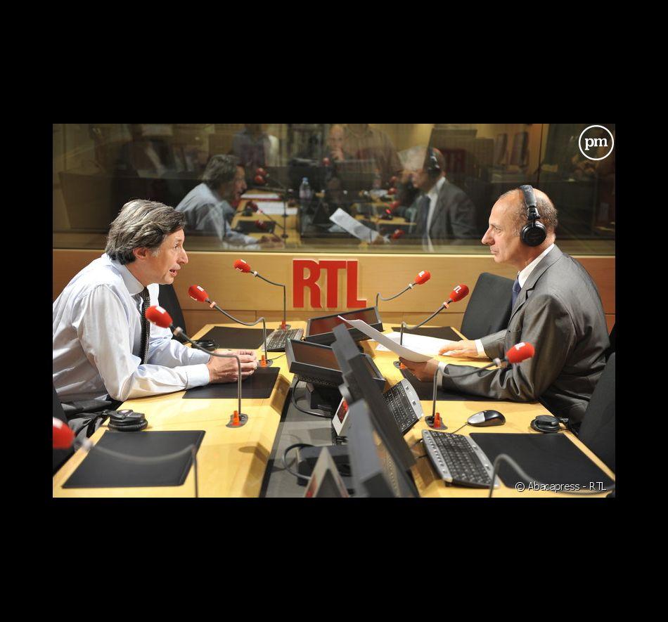 Patrick de Carolis, le 2 juillet 2008 à RTL