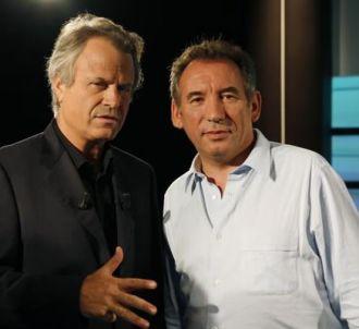 François Bayrou et Franz-Olivier Giesbert sur France 5