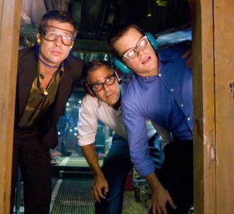 Brad Pitt, George Clooney et Matt Damon dans 'Ocean's...