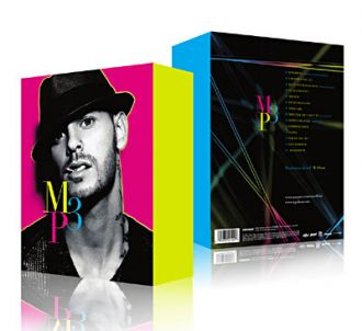 CD audio  M. Pokora : MP3 - Edition collector