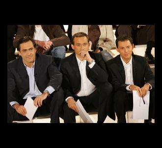 Emmanuel Chain, Jean-Luc Delarue et Marc-Olivier Fogiel...