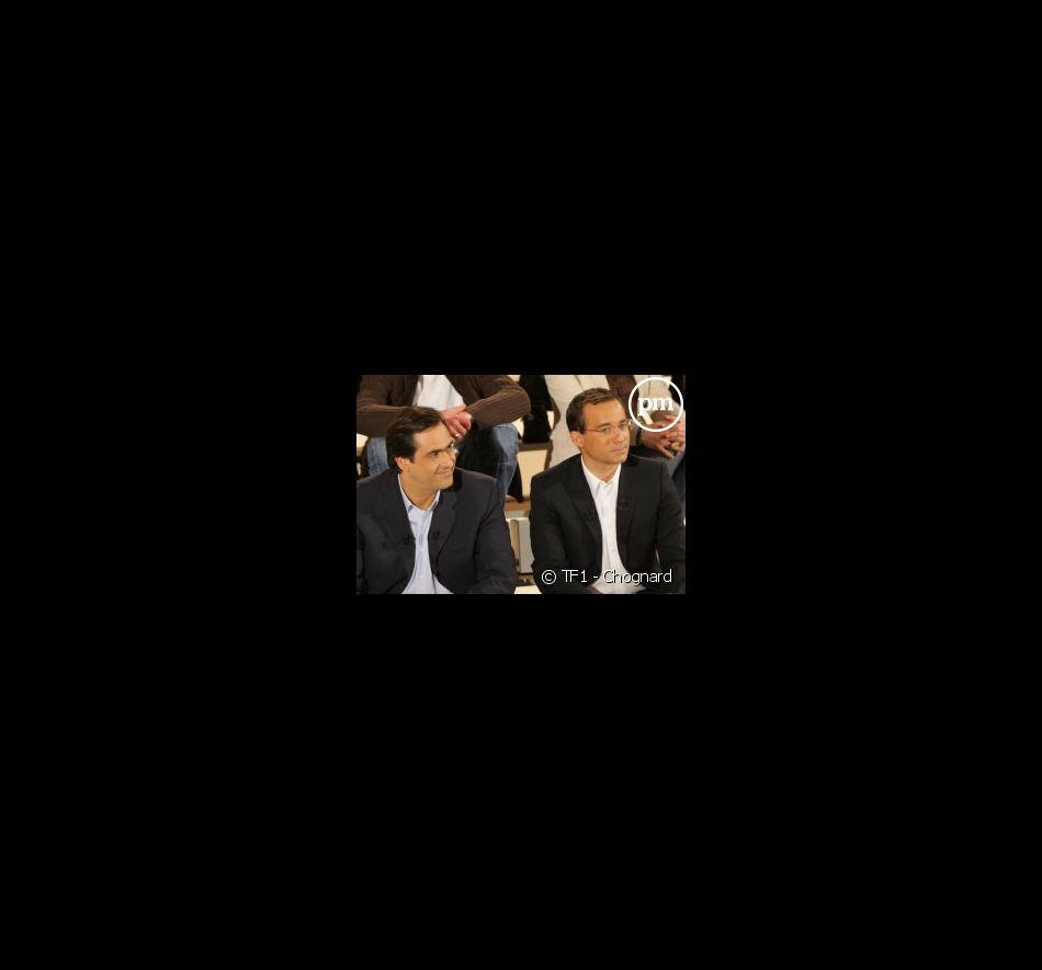 Emmanuel Chain et Jean-Luc Delarue sur TF1 le 14 avril 2005