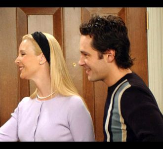 Lisa Kudrow et Paul Rudd dans 'Friends'