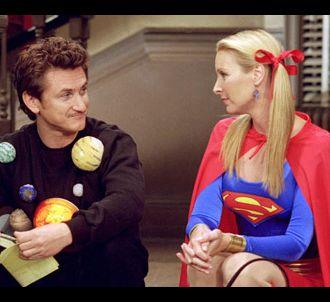 Sean Penn et Lisa Kudrow dans 'Friends'