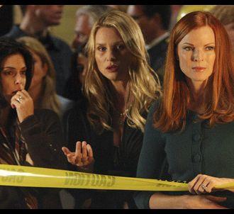 Teri Hatcher, Nicollette Sheridan et Marcia Cross dans...