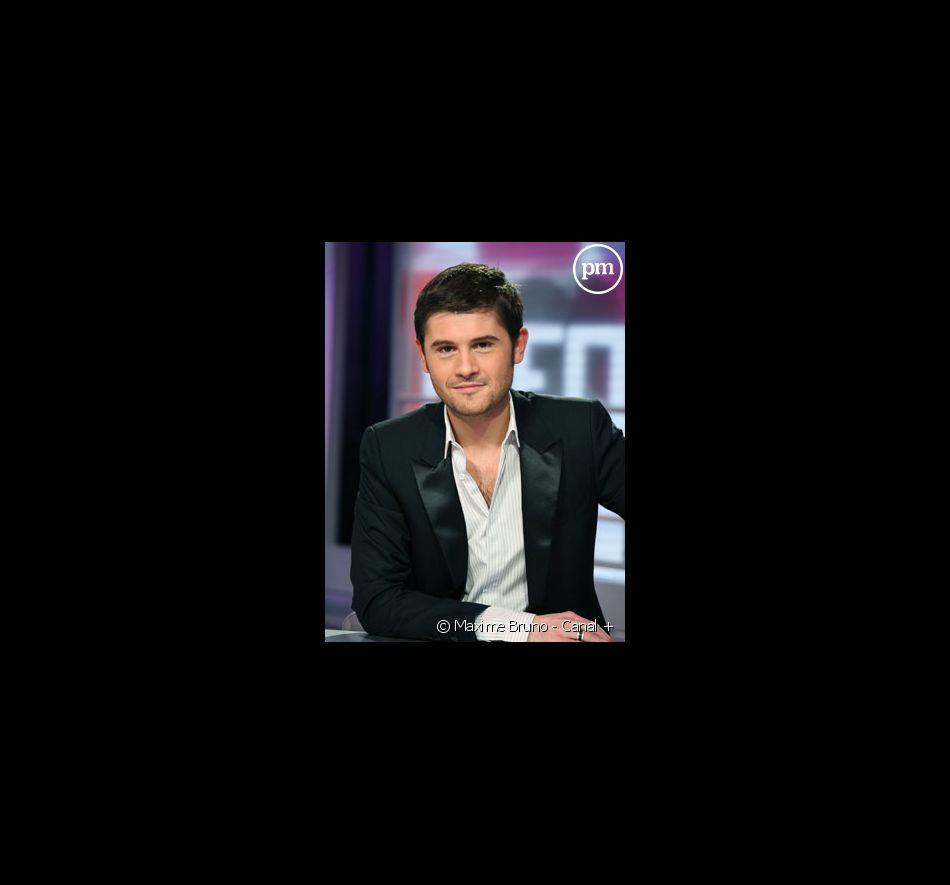 """Christophe Beaugrand, chroniqueur dans """"La Matinale"""" sur Canal +."""