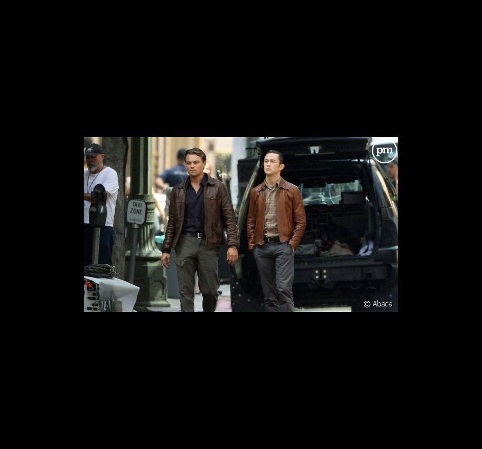 Leonardo DiCaprio et Joseph Gordon-Levitt