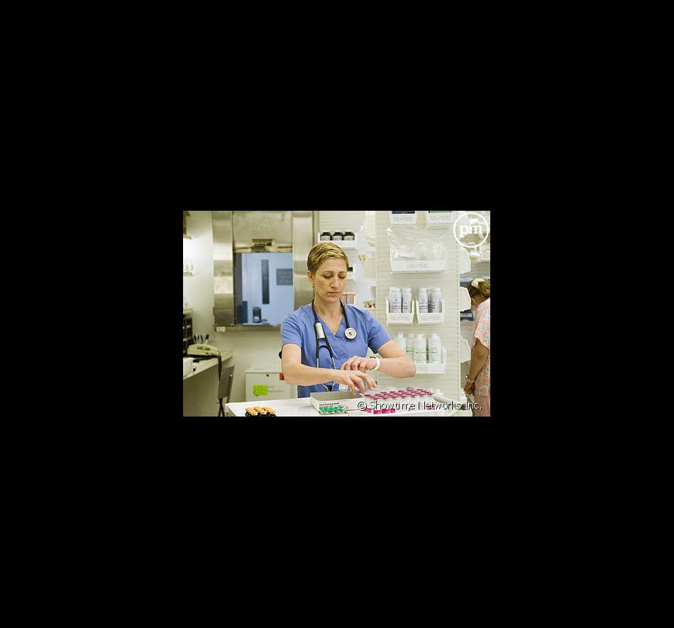 """Edie Falco dans """"Nurse Jackie"""""""
