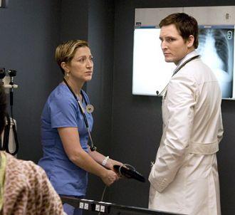 Edie Falco et Peter Facinelli dans 'Nurse Jackie'