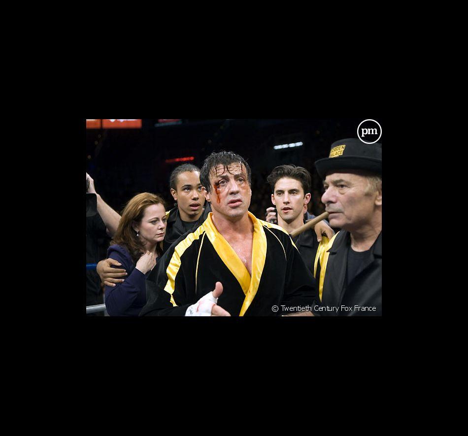 "Sylvester Stallone et Burt Young dans ""Rocky Balboa"""