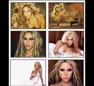Shakira Hot Screensaver