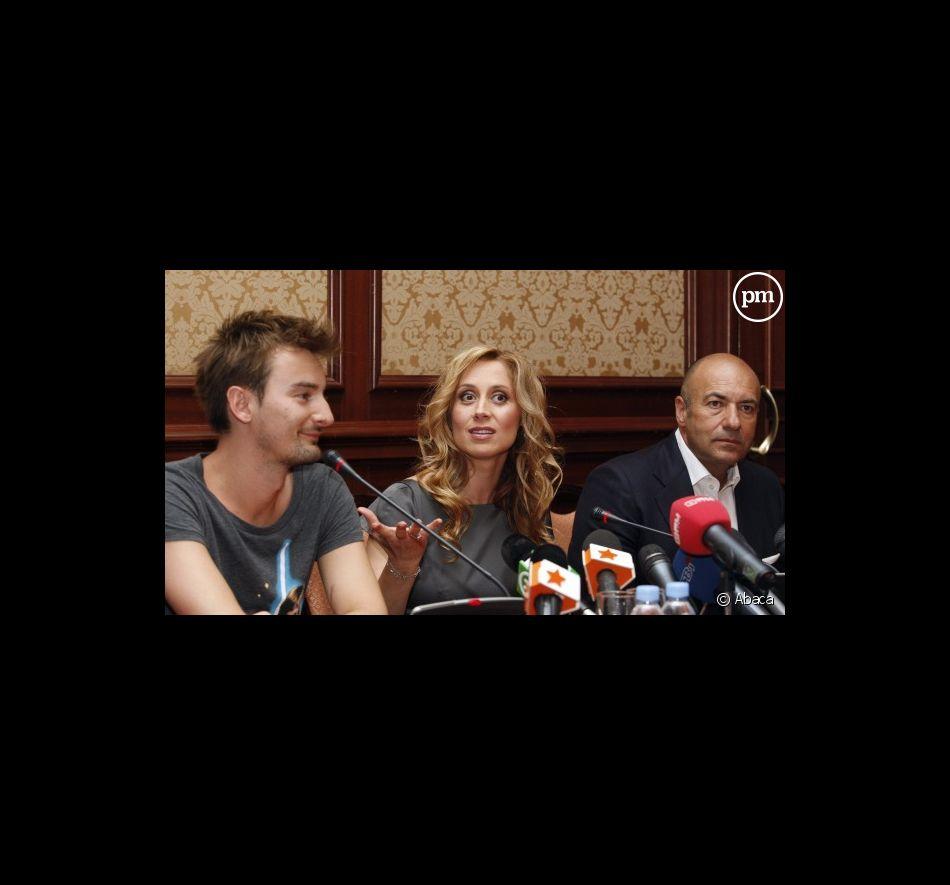 Alan Badoev, Lara Fabian et Igor Krutoï