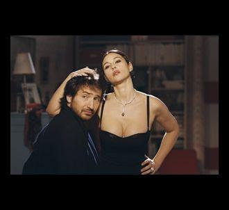 Edouard Baer et Monica Bellucci dans 'Combien tu m'aimes ?'.
