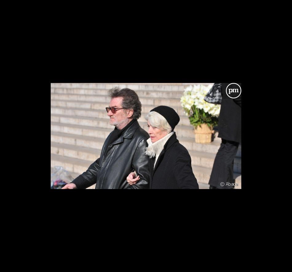 Eddy Mitchell et Françoise Hardy