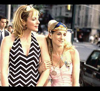 Kim Catrall et Sarah Jessica Parker dans 'Sex & the City'