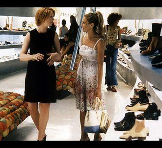 Cynthia Nixon et Sarah Jessica Parker dans 'Sex & the City'