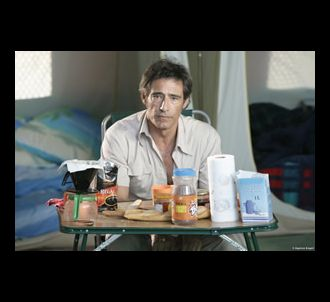 Gérard Lanvin dans 'Camping'.