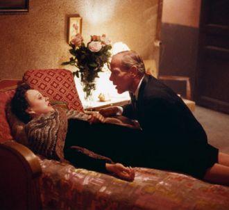 Marion Cotillard et Pascal Greggory dans 'La Môme'.
