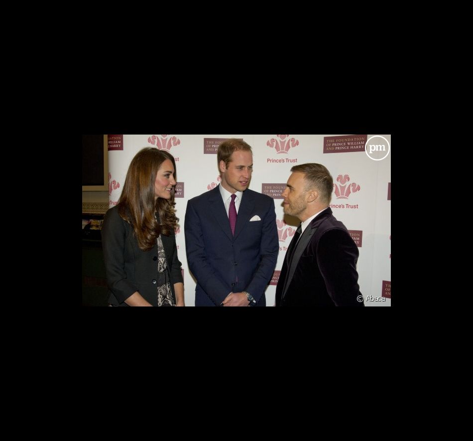 Kate Middleton, Prince William et Gary Barlow