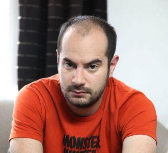 Kyan Khojandi, acteur de la série 'Bref'<br />