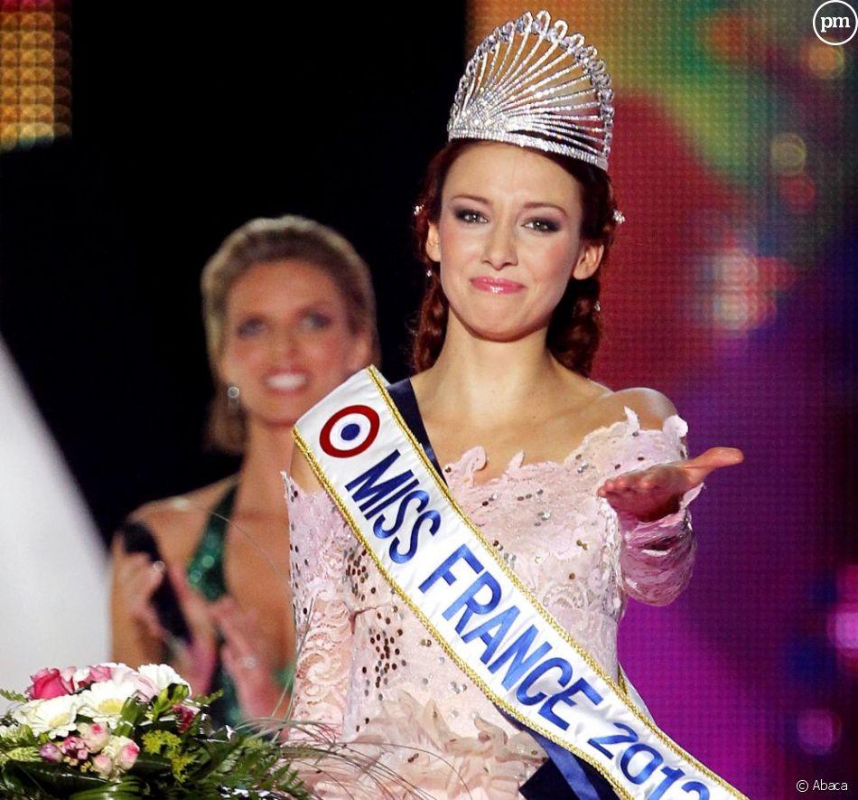 Delphine Wespiser élue Miss France 2012.<br />