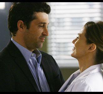 Patrick Dempsey et Ellen Pompeo dans 'Grey's Anatomy'