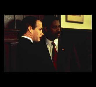Tom Hanks et Denzel Washington dans 'Philadelphia'
