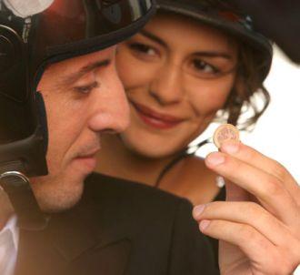 Gad Elmaleh et Audrey Tautou dans 'Hors de prix'.