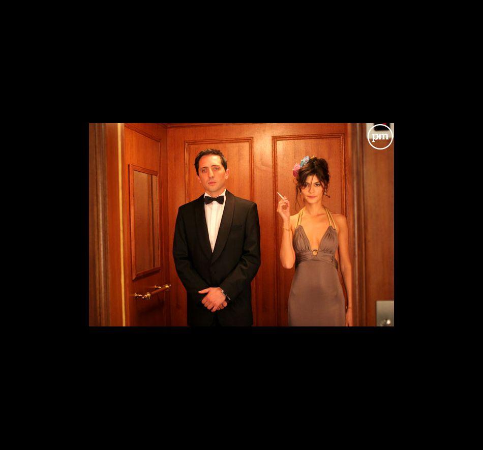 """Gad Elmaleh et Audrey Tautou dans """"Hors de prix""""."""