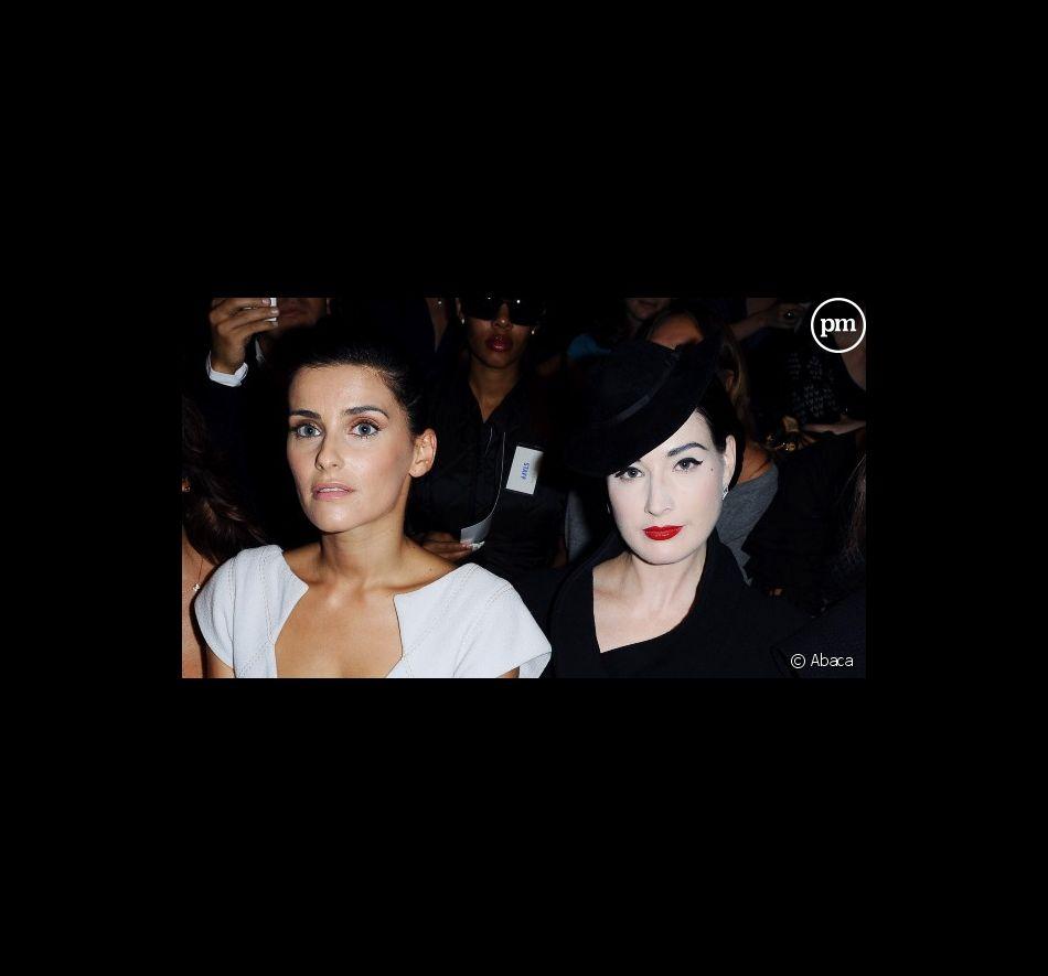 La chanteuse Nelly Furtado et Dita Von Teese