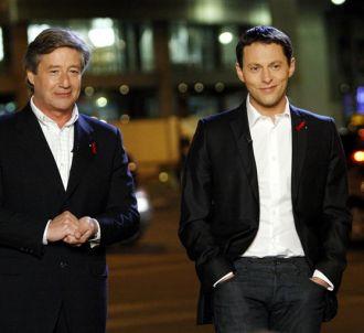 Patrick Sabatier et Marc-Olivier Fogiel