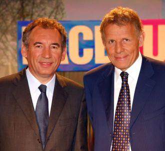 François Bayrou et Patrick Poivre d'Arvor