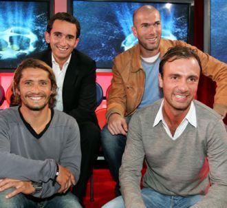 Alexandre Bompard, Zinedine Zidane, Bixente Lizarazu et...