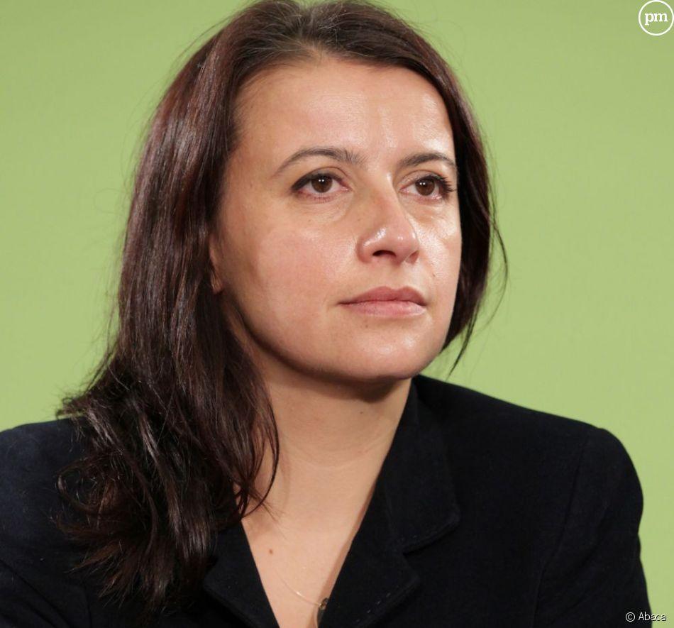Cécile Duflot, secrétaire nationale de Europe Ecologie - Les Verts.